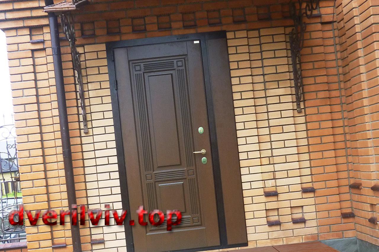 Вхідні сталеві двері і їх теплопровідність