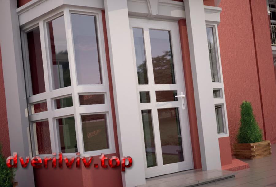 Вхідні двері ПВХ - причини вибрати :: Низькі ціни у Львові