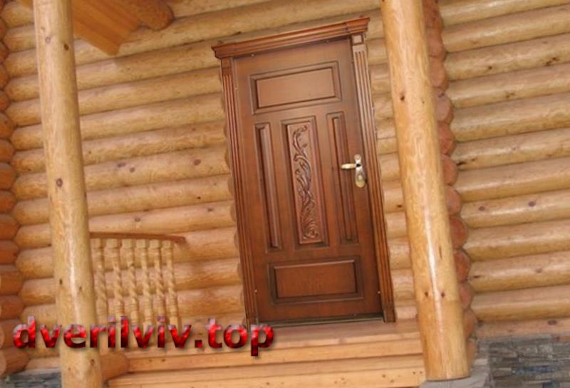 Двері дерев'яні для дачі :: Низькі ціни у Львові