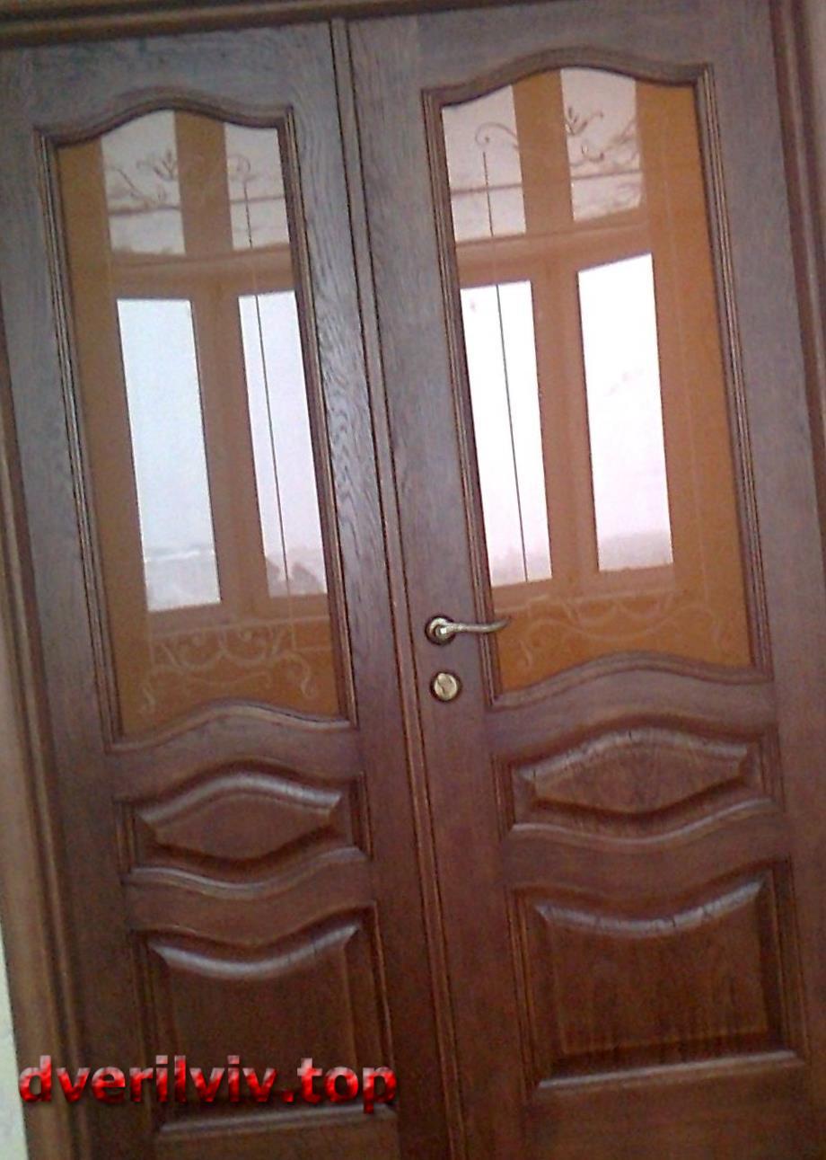 Двері з горіха :: Низькі ціни у Львові