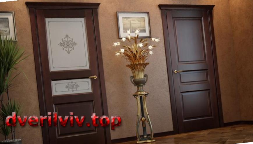 Двері міжкімнатні з дуба :: Низькі ціни у Львові