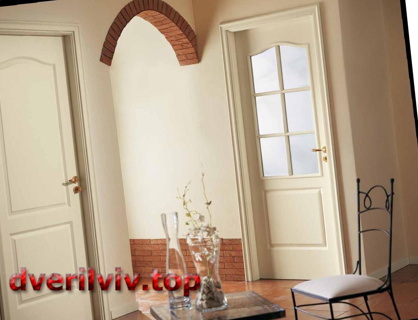 Міжкімнатні двері з масиву дерева :: Низькі ціни у Львові