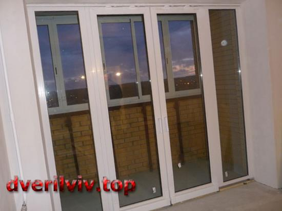 Металопластикові балконні двері. Види, особливості конструкції і вибору