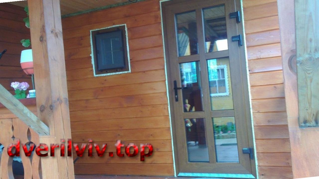 Металлопластикові двері теплі, красиві, сучасні!